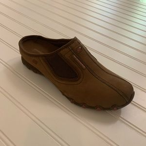 Skechers Brown Slip Ons 8